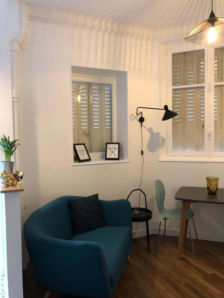 Salon appartement Paris 16ème
