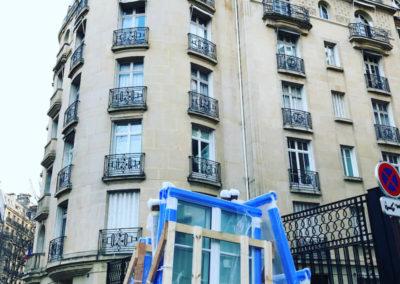 Fourniture et pose de fenêtres en bois à Paris 16ème