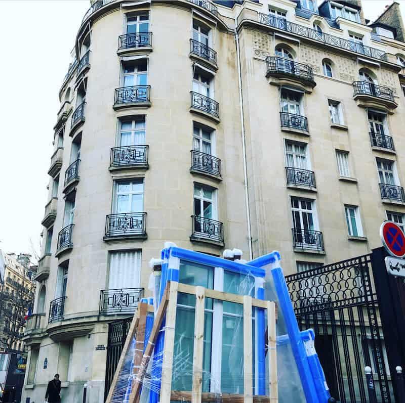 poses de fenêtres en bois à Paris
