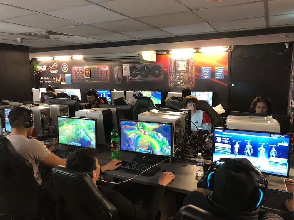 Rénovation d'un cybercafé