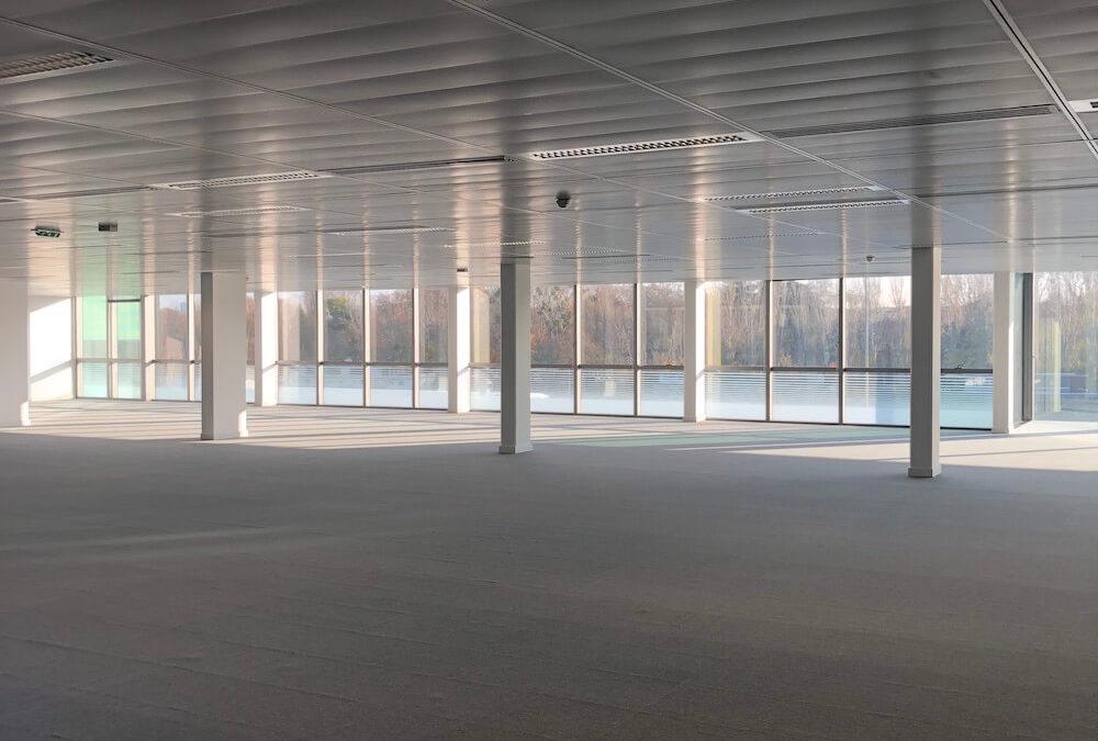 Rénovation d'un bureau de 1950 m² à Boulogne-Billancourt