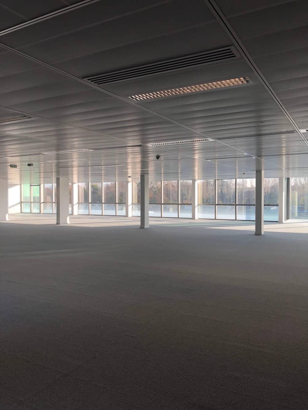 Rénovation d'un plateau de bureaux à Boulogne-Billancourt