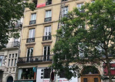 Rénovation d'un appartement 125 m² place de la République à Paris
