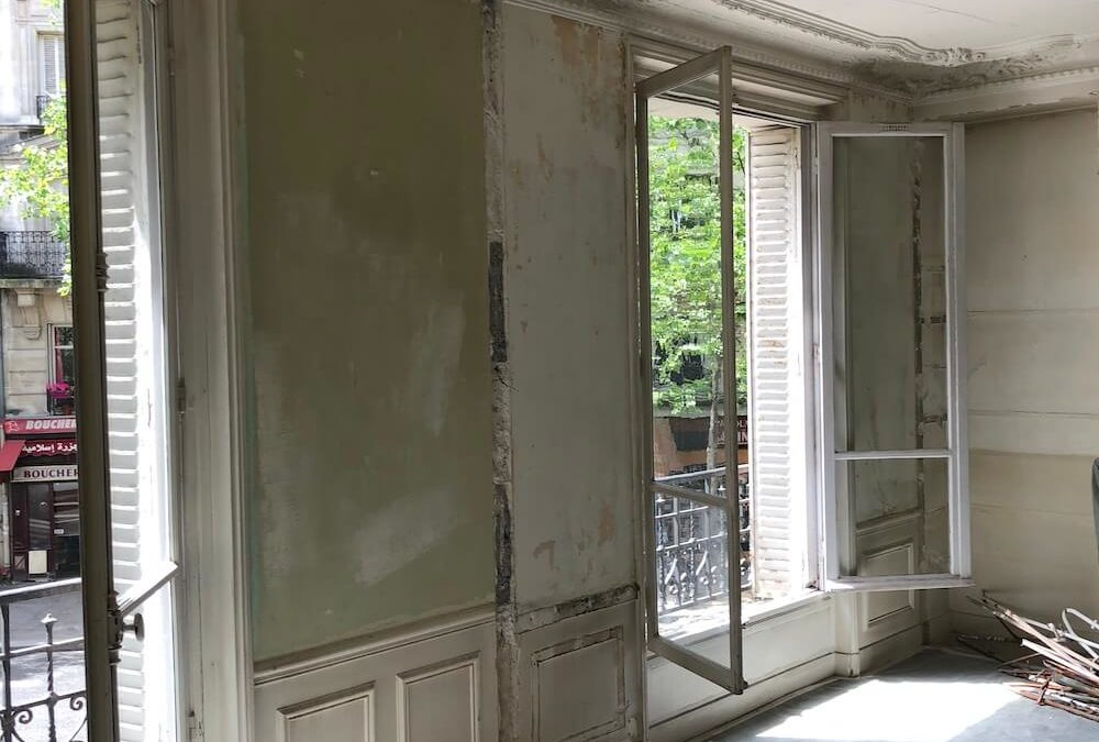Rénovation d'un appartement de 55 m² – Paris 75019