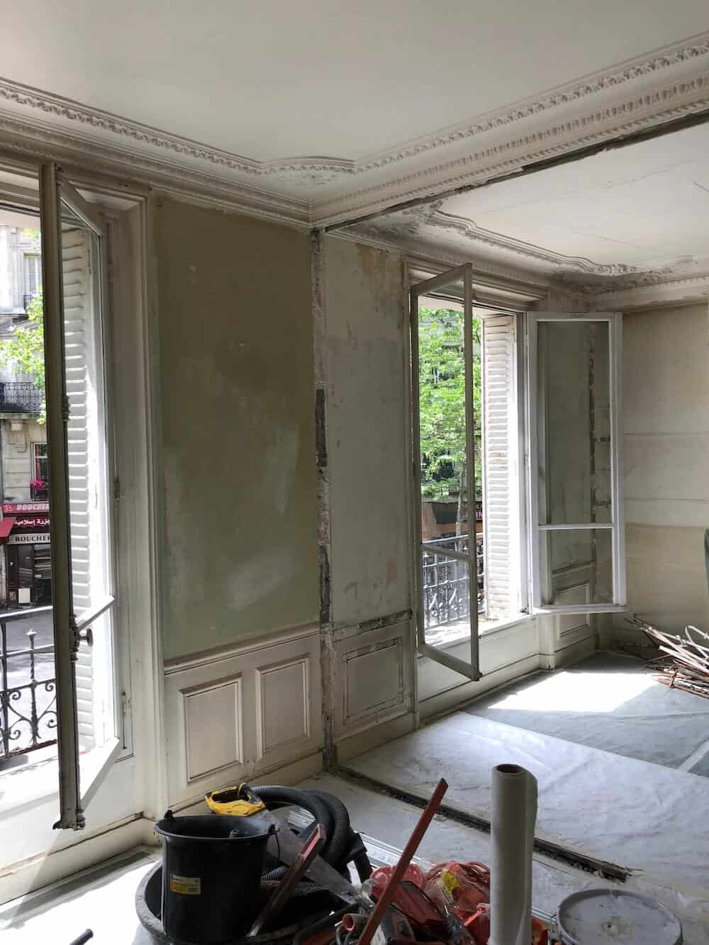 Rénovation d'un appartement à Paris 75019