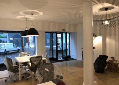 Rénovation d'une boutique à Paris