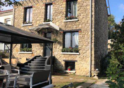 Rénovation d'une maison à Créteil