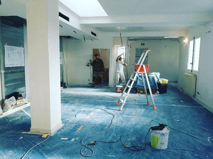 Protection de chantier d'appartement à Paris