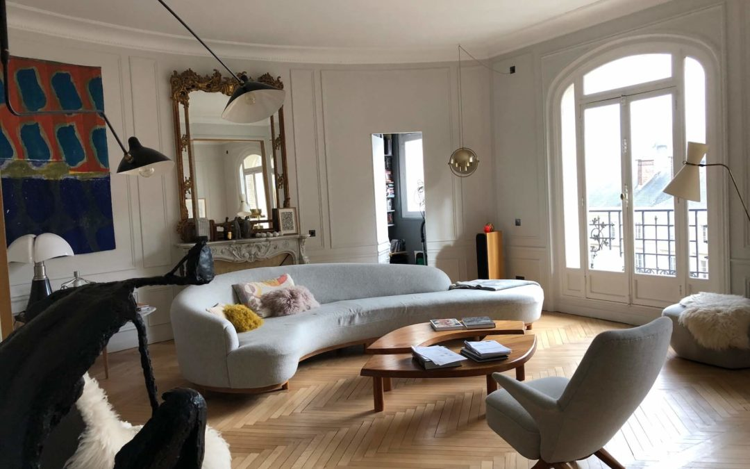 Rénovation d'un appartement haussmannien de 270 m²  – place du Panthéon