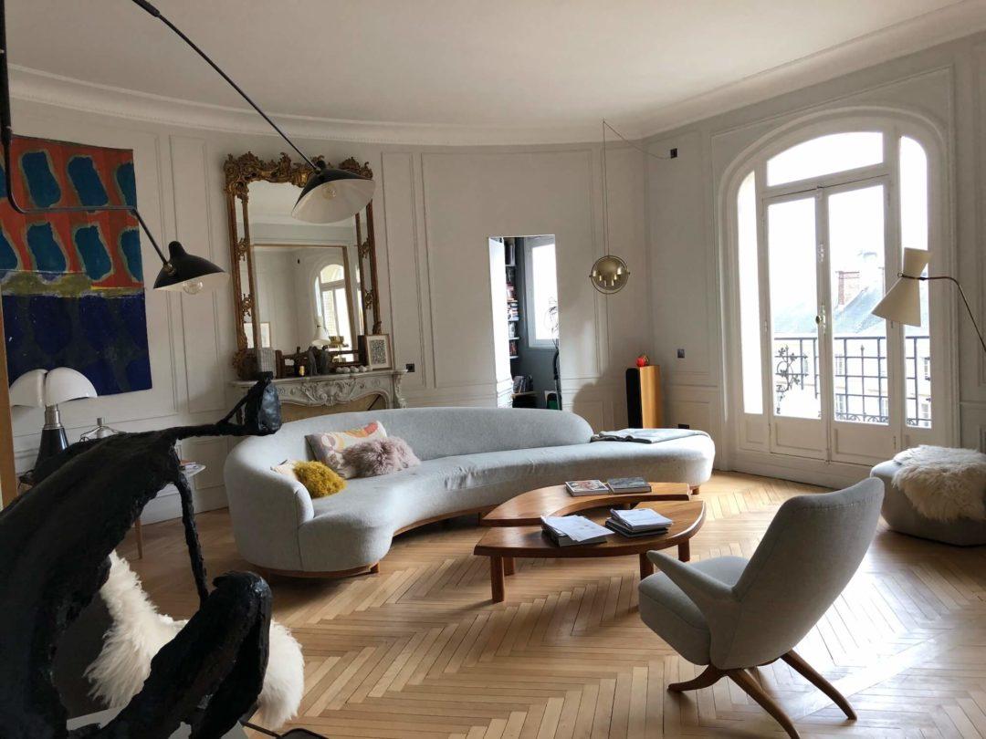 Rénovation d'un appartement place du Panthéon