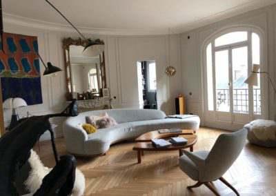 Rénovation d'un appartement haussmannien de 270 m²  – place du Panthéon