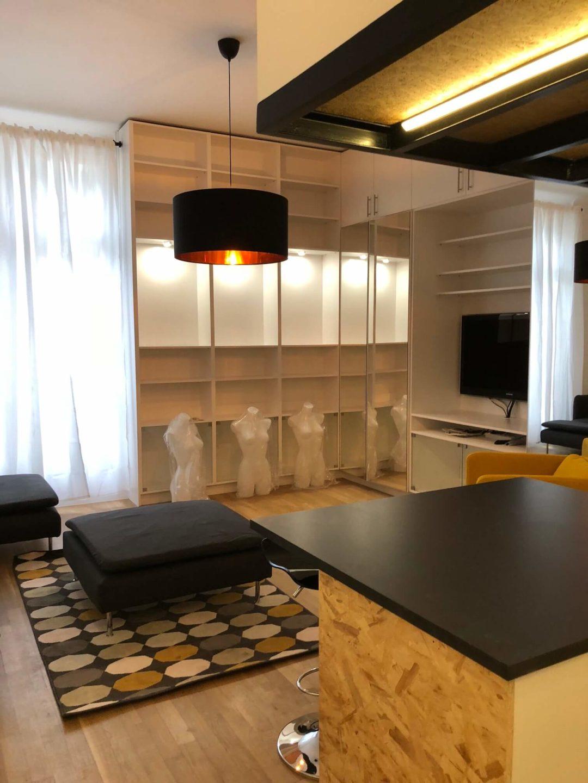 rénovation appartement 100 m² à Neuilly-sur-Seine démolition