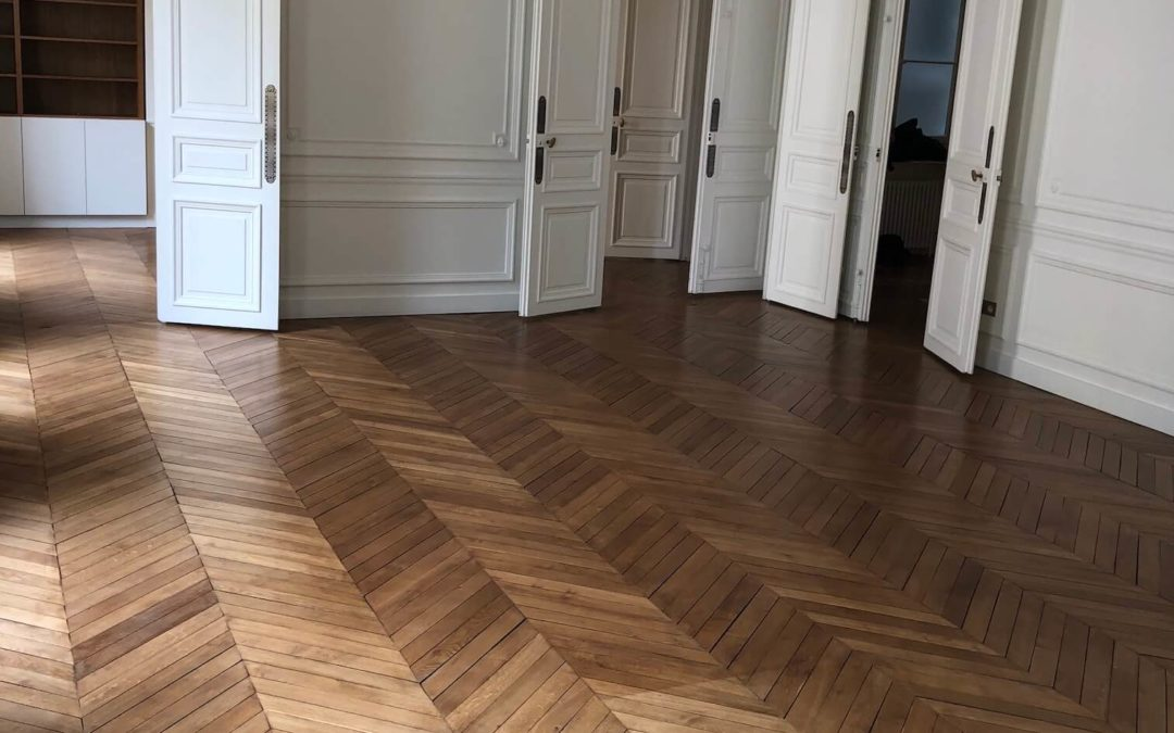 Rénovation d'un appartement Haussmannien de 175 m² – Paris 75007