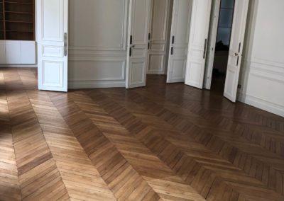 Rénovation d'un appartement Haussmannien de 175 m² – Paris 75007