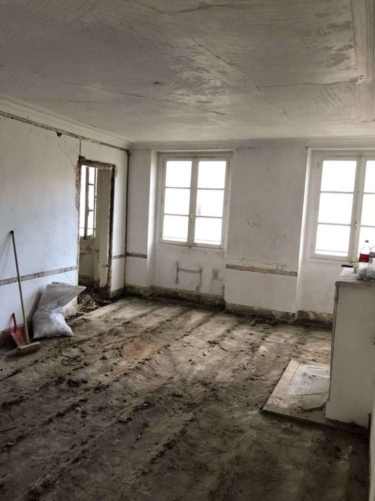 Rénovation appartement 75 m Paris 75006